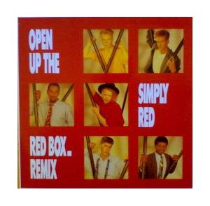 Cover - Simply Red: Open Up The Red Box