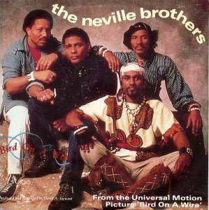 The Neville Brothers: Bird On A Wire - Cover