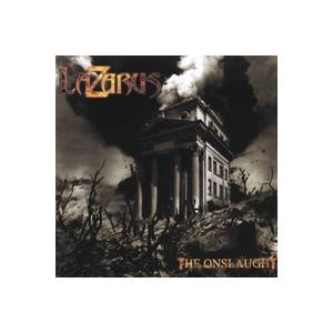 Lazarus: Onslaught, The - Cover