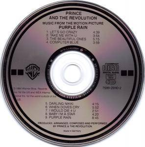 Prince And The Revolution: Purple Rain (CD) - Bild 2
