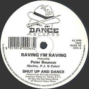 Cover - Shut Up And Dance: Raving I'm Raving