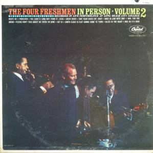 Cover - Four Freshmen, The: Four Freshmen In Person Volume 2, The
