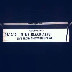 Cover - Nine Black Alps: Live From The Wishing Well