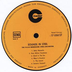 The N-U-R Renegades Steel Orchestra: Sounds In Steel (LP) - Bild 4