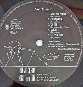 Joe Jackson: Night And Day (LP) - Bild 4