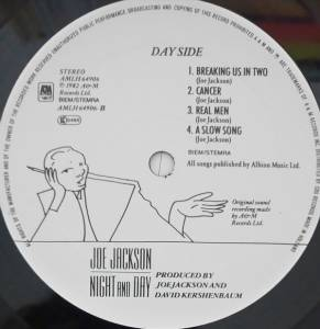 Joe Jackson: Night And Day (LP) - Bild 5