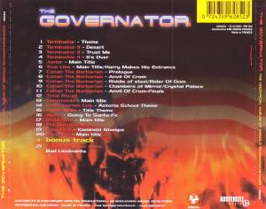 The City Of Prague Philharmonic / Bad Lieutenants: The Governator (The Unofficial Album Of Arnold Schwarzenegger) (Split-CD) - Bild 2