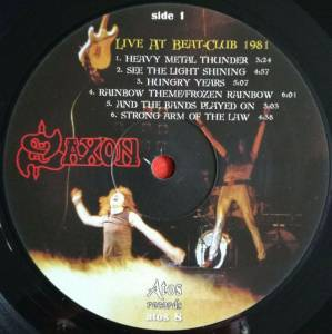 Live At Beat-Club 1981 | LP (Bootleg, Limited Edition, Live) von Saxon