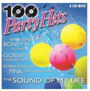Cover - Olly Murs: 100 Party Hits - The Sound Of My Life