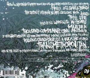 War From A Harlots Mouth: Transmetropolitan (CD) - Bild 2
