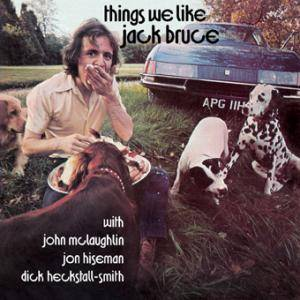 Jack Bruce: Things We Like - Cover
