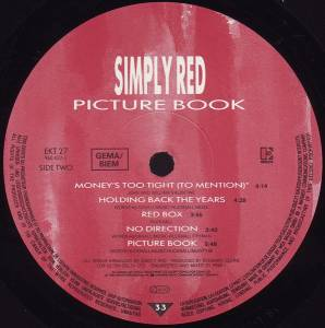 Simply Red: Picture Book (LP) - Bild 6
