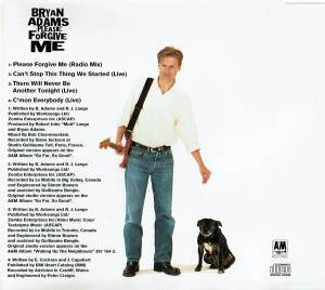 Bryan Adams: Please Forgive Me (Single-CD) - Bild 2