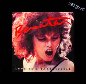 Pat Benatar: Love Is A Battlefield - Cover