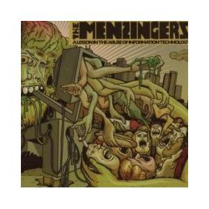 The Menzingers: Lesson In The Abuse Of Information Technology, A - Cover