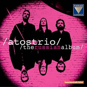 Cover - Anton Stepanowitsch Arenski: Atostrio - The Russian Album