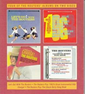Cover - Routers, The: Let's Go! With The Routers / The Routers Play 1963's Great Instrumental Hits / Charge! / The Routers Play The Chuck Berry Song Book