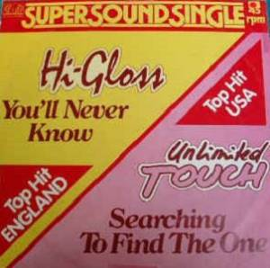 Cover - Unlimited Touch: You'll Never Know / Searching To Find