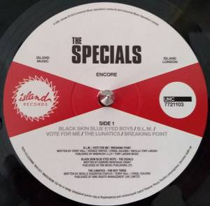 The Specials: Encore (LP) - Bild 3