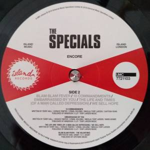 The Specials: Encore (LP) - Bild 4