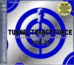 Cover - Andy B. Jones: Tunnel Trance Force Vol. 24