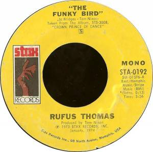 Cover - Rufus Thomas: Funky Bird, The
