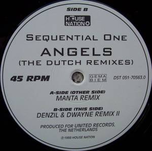 Cover - Sequential One: Angels
