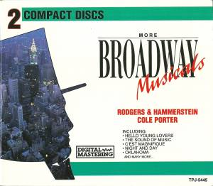 Richard Rodgers & Oscar Hammerstein II + Cole Porter: More Broadway Musicals (Split-2-CD) - Bild 1