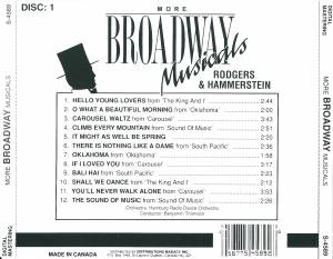Richard Rodgers & Oscar Hammerstein II + Cole Porter: More Broadway Musicals (Split-2-CD) - Bild 4