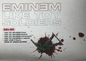 Eminem: Like Toy Soldiers (Promo-Single-CD) - Bild 2