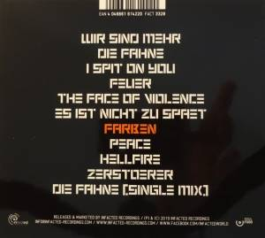 Orange Sector: Alarm (CD) - Bild 2