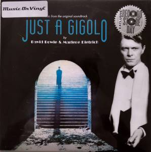 "David Bowie / Marlene Dietrich: From The Original Soundtrack Just A Gigolo (Split-7"") - Bild 2"