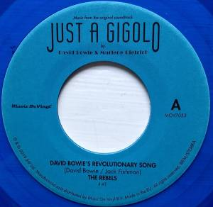 "David Bowie / Marlene Dietrich: From The Original Soundtrack Just A Gigolo (Split-7"") - Bild 5"