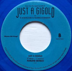 "David Bowie / Marlene Dietrich: From The Original Soundtrack Just A Gigolo (Split-7"") - Bild 6"