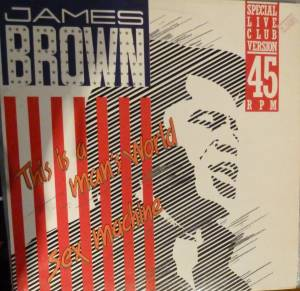 "James Brown: This Is A Man's World / Sex Machine (12"") - Bild 1"