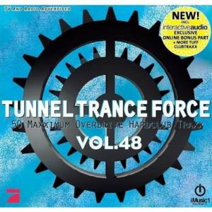 Cover - Stew Ewans + Louk: Tunnel Trance Force Vol. 48