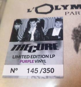The Cure: L'olympia - Paris 1981 (LP) - Bild 5