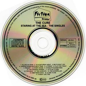 The Cure: Staring At The Sea - The Singles (CD) - Bild 3