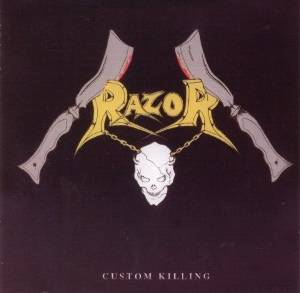 Razor: Custom Killing - Cover