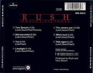 Rush: Moving Pictures (CD) - Bild 2