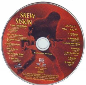 Skew Siskin: What The Hell (CD) - Bild 3