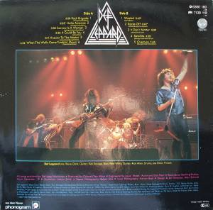 Def Leppard: On Through The Night (LP) - Bild 2