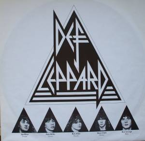 Def Leppard: On Through The Night (LP) - Bild 4