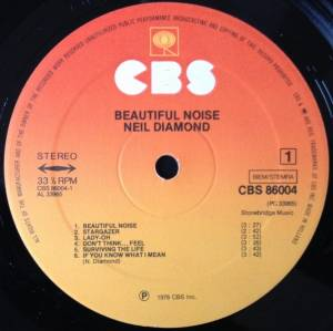 Neil Diamond: Beautiful Noise (LP) - Bild 6