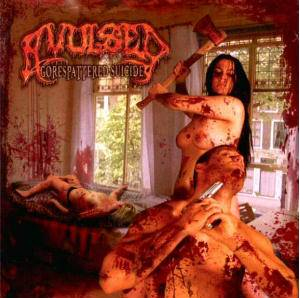 Avulsed: Gorespattered Suicide - Cover