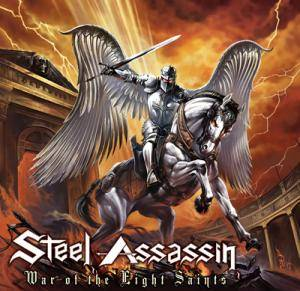 Steel Assassin: War Of The Eight Saints - Cover