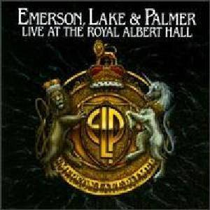 Emerson, Lake & Palmer: Live At The Royal Albert Hall - Cover