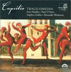 Cover - Nicola Matteis: Capritio / Instrumental Music From 17th-Century Italy