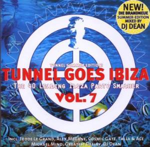 Cover - Stew Ewans + Louk: Tunnel Goes Ibiza Vol. 7