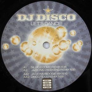 Cover - DJ Disco: Let's Dance! (Step 2 Of Two Steps)